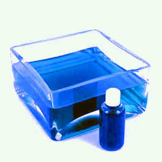 paillette peinture colorant colorant bleu xxl 150 l pour eau des vases - Colorant Eau Vase