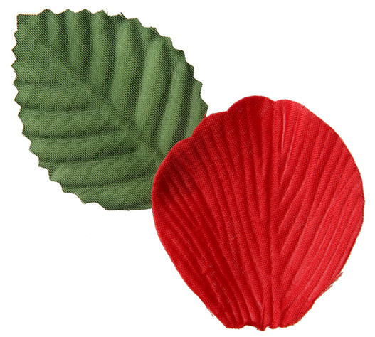 fleur artificielle p tale de rose coloris rouge mat riel d 39 art floral et conseils pour la. Black Bedroom Furniture Sets. Home Design Ideas