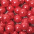 Perle OASIS 14 mm coloris Rouge par 35