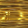 Fil alu déco métallique OASIS 2 mm coloris Or par 5 m