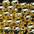 Perle métallique OASIS 10 mm coloris Or par 120