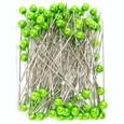 Epingle a tête coloris Vert Anis par 100