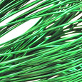 Fil alu déco métallique OASIS 2 mm coloris Vert Sapin par 5 m