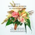 DVD cours d'art floral N°10 Les bouquets de mariée sur poignée Posy