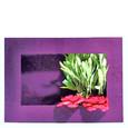 Cadre végétal a garnir coloris Prune GM