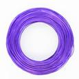 Fil alu déco métallique grand métrage coloris Violet 1 mm