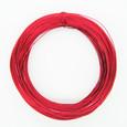 Fil alu métallique grand métrage coloris Rouge 1 mm
