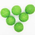 Boule en sisal Anis par 4 piéces