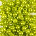 Perle OASIS 8 mm coloris Vert Anis par 144