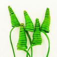 Cane cone Vert par 5 pièces