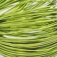 Fil alu déco métallique OASIS 2 mm coloris Vert Anis par 5 m