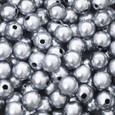 Perle 10 mm coloris Argent par 115