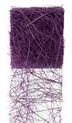 Ruban abaca couleur Violet
