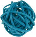 Petite boule osier par 12 pièces Turquoise