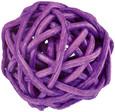 Petite boule osier par 12 pièces Violet