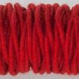 Cordelette de laine Rouge