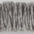 Cordelette de laine Gris