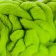 laine mèche Vert anis