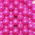 Perle 10 mm coloris Fuchsia par 115