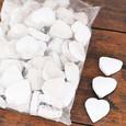 Coeur blanc en Coconut par 10 pièces