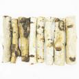Bois de bouleau 15 cm par 5 pièces