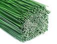 Fil de fer laqué vert pour gros montage 1.0 mm x 50 cm paquet de 500 gr
