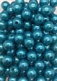 PERLE 10mm Bleu turquoise par 115 pièces