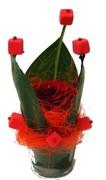 Pot de rose baroque