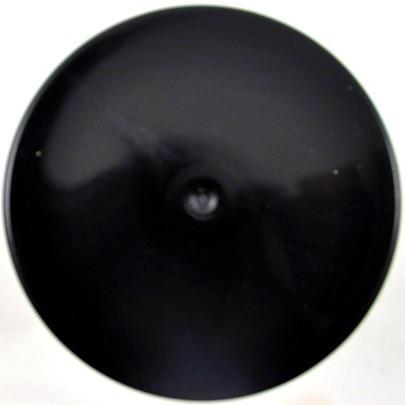 Bombe de peinture florale Noire OASIS