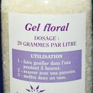 Déco Gel floral a hydrater 100 grs