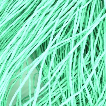 Cordelette papier raphia Vert Turquoise