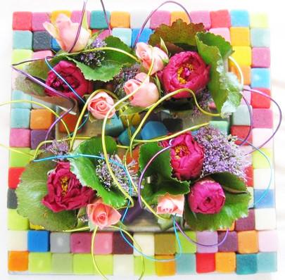 Mosaique de couleur