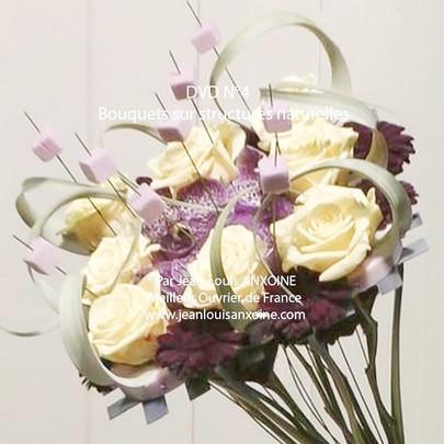 DVD cours d'art floral N°4 Bouquet sur structure naturelle