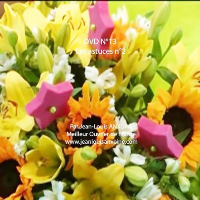 DVD cours d'art floral N°13 Les astuces dans l'art floral tome 2