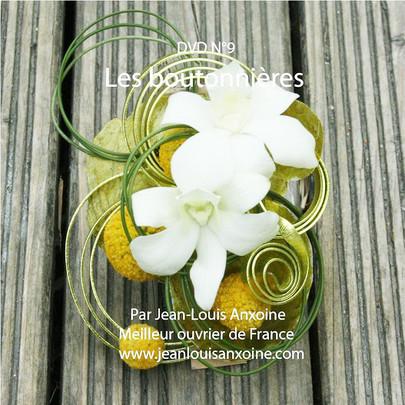 DVD cours d'art floral N°9 Les boutonnières