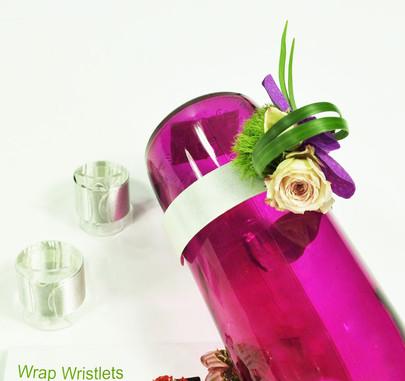 Bracelet Wrap OASIS blanc aimanté pour décor de poignet