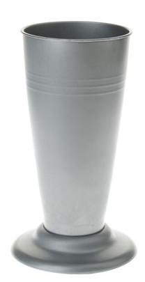Vase fleuriste couleur zinc 30 cm