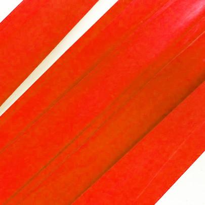 Ruban de bois grande largeur couleur Rouge