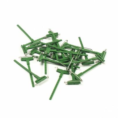 Boutonnière Galaclip oasis corsage Verte par 10