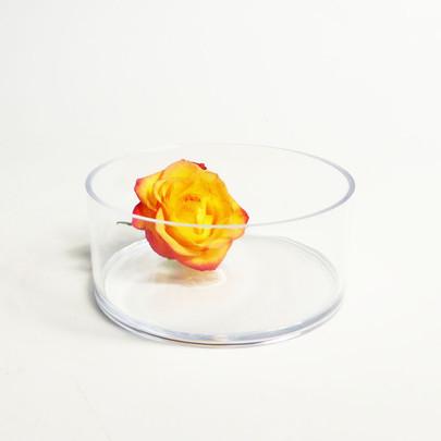 Coupe cylindrique Plexiglas Cristal Diamètre 15 cm