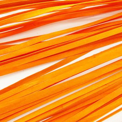 Ruban de bois petite largeur couleur Orange