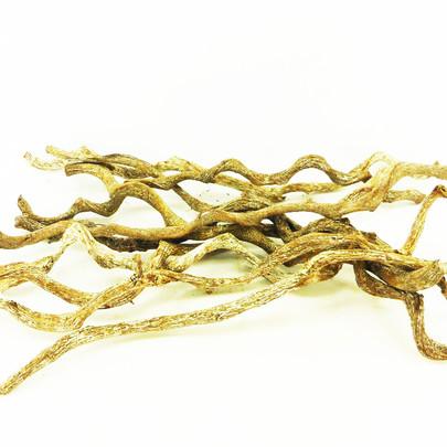 Bois-liane de Curved blanchi