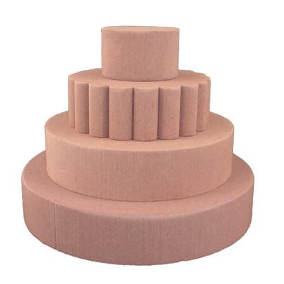 Gâteau de mariage avec 4 tartes Oasis Chococat