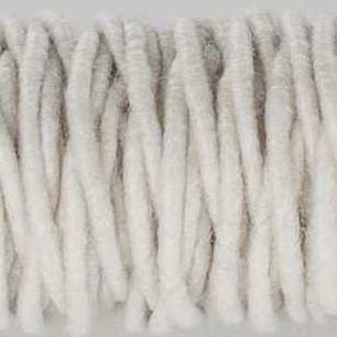Cordelette de laine ivoire