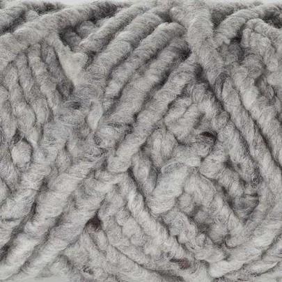 Cordelette de laine bouillie Gris