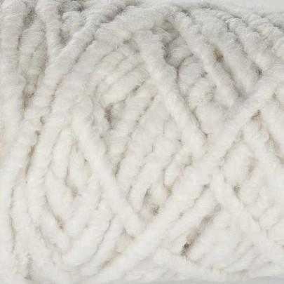 Cordelette de laine bouillie Ivoire