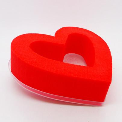 Coeur OASIS coloris Rouge ouvert