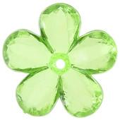 Perle fleur coloris Vert
