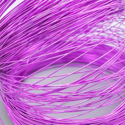 Fil alu déco métallique OASIS 1 mm coloris Lavande
