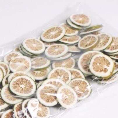 Tranches d'orange Verte séchée sac de 40 tranches